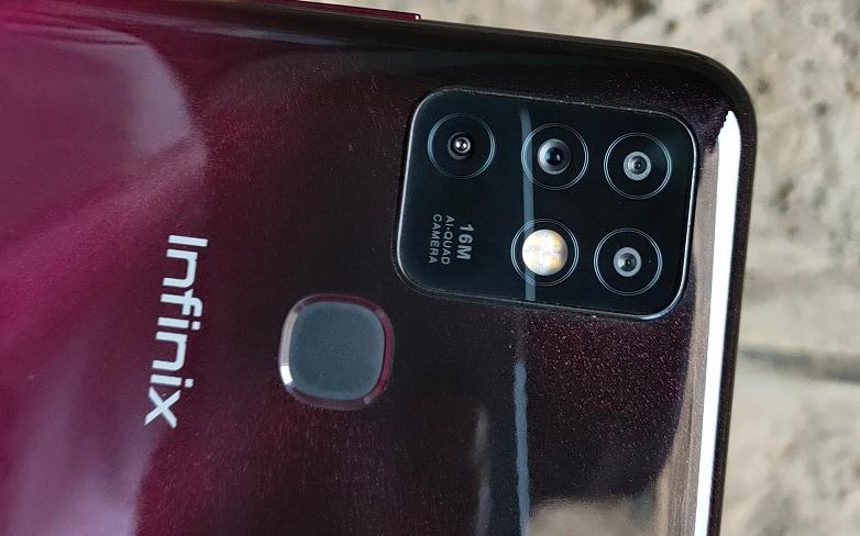 infinix hot 10 camera