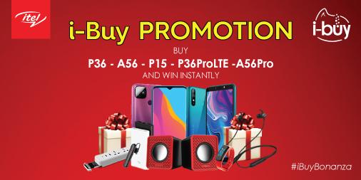 itel ibuy shopping festival promotion
