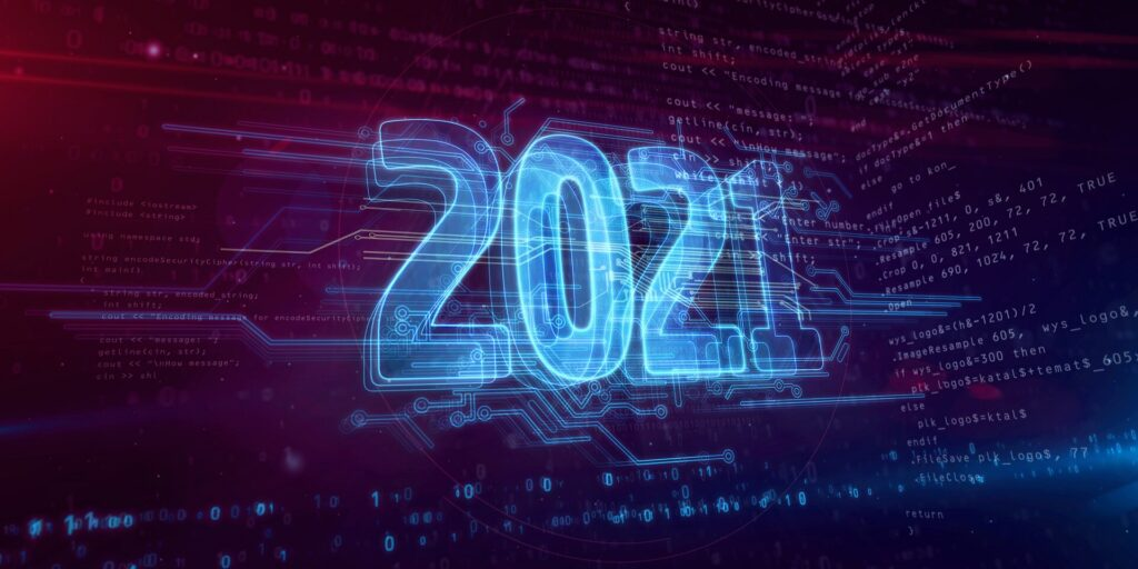 2021 year of tech-ing over