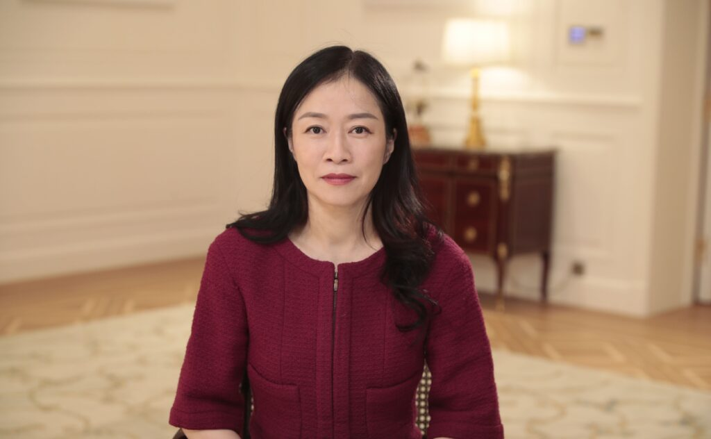 huawei vp catherine chen Believe in the power of technology