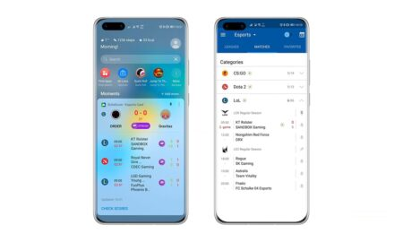 huawei assistant live esports