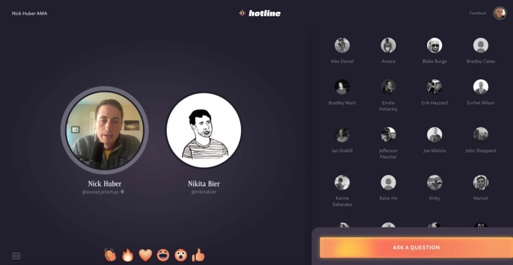 facebook hotline clubhouse competitor