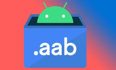 google replacing apk format with aab