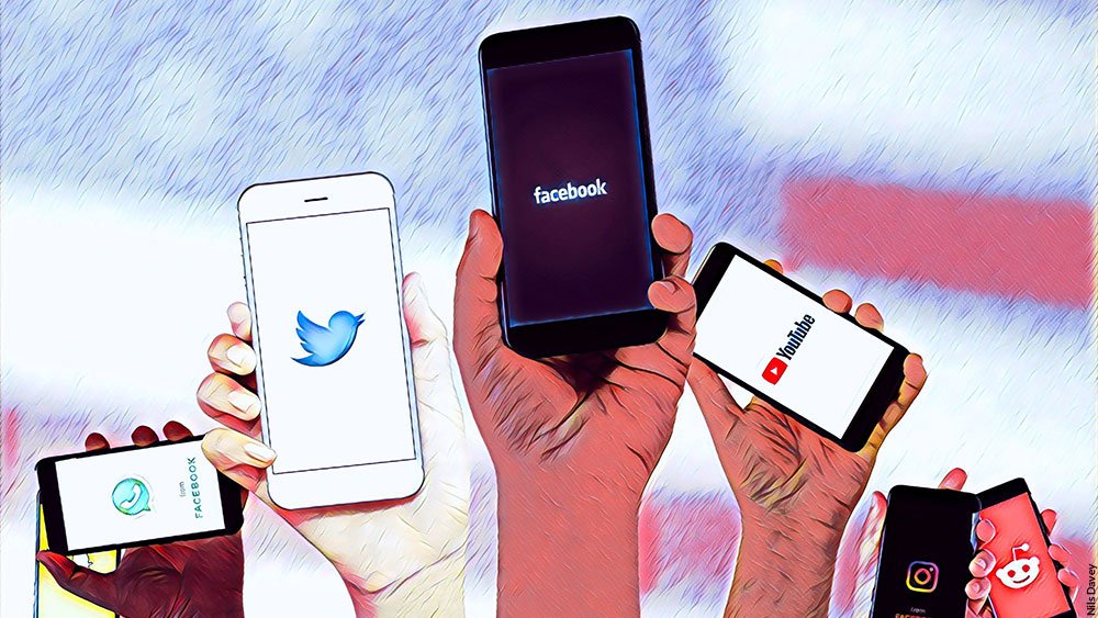 social media usage uganda 2021 elections