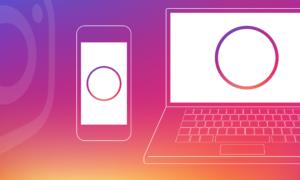 instagram on desktop