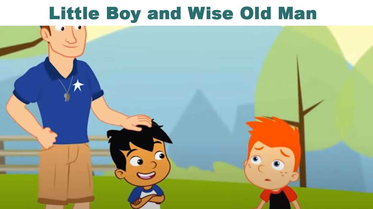 Little Boy and Wise Old Man