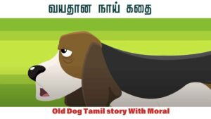 Old Dog Tamil story With Moral (வயதான நாய் )