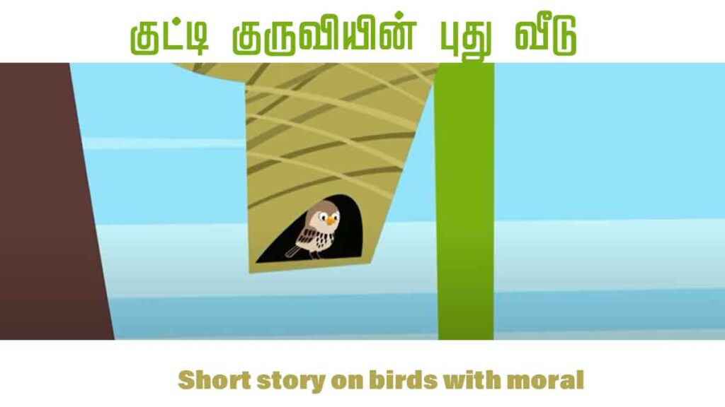Short story on birds with moral பறவையின் கூடு