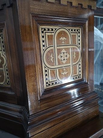 Panel after restoration