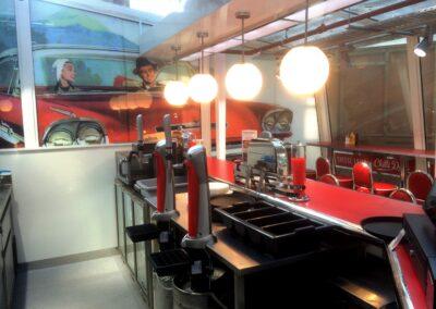 Ed's Diner, Liverpool Street