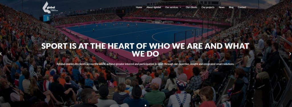 4 Global Spor Danışmanlık Firması Sitesi