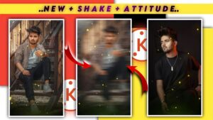 New Shake effect + Attitude Status video editing 2021.