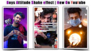 Boys Attitude Shake effect Status Video Editing in kinemaster 2021.