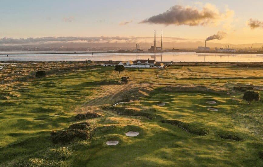 A photograph of Royal Dublin Golf Club