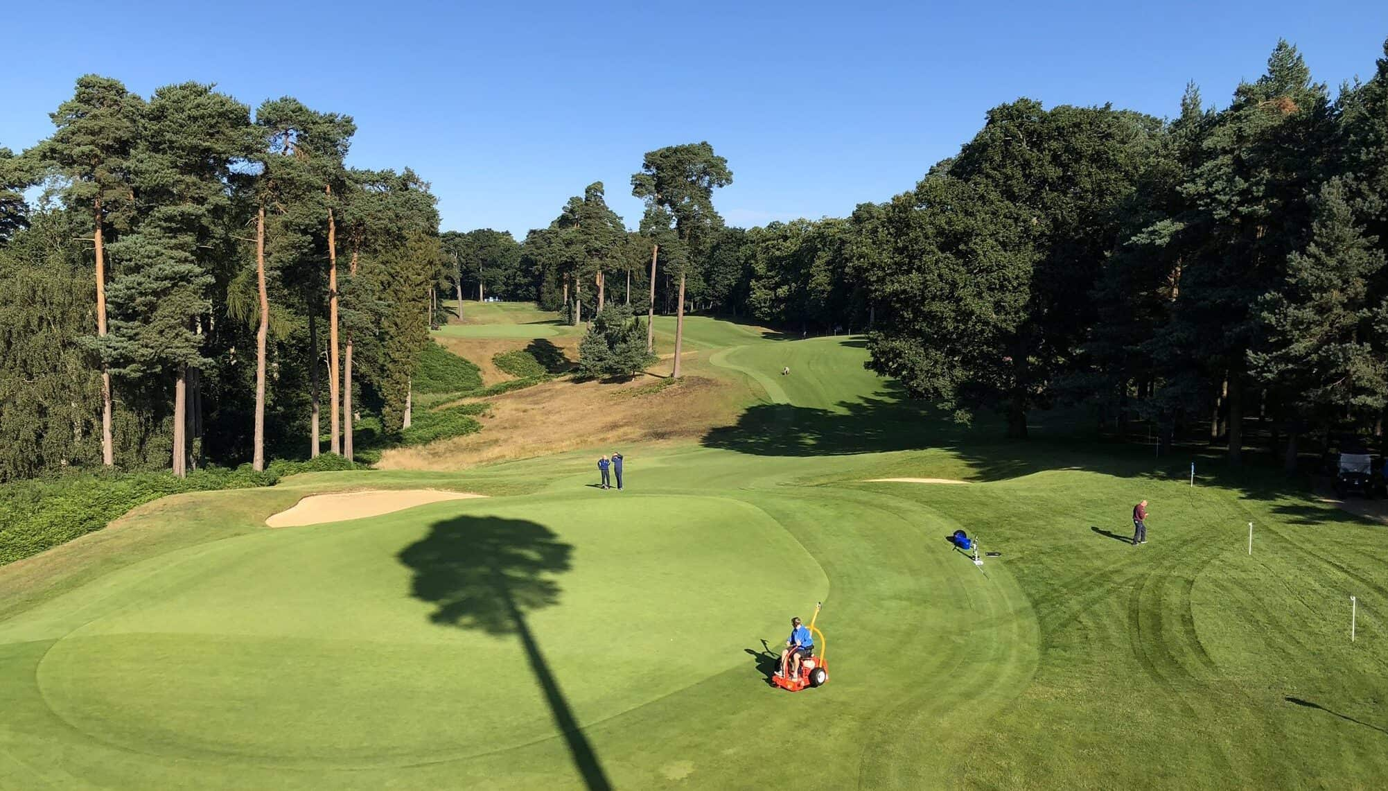 The 7th hole on Woburn's Marquess course