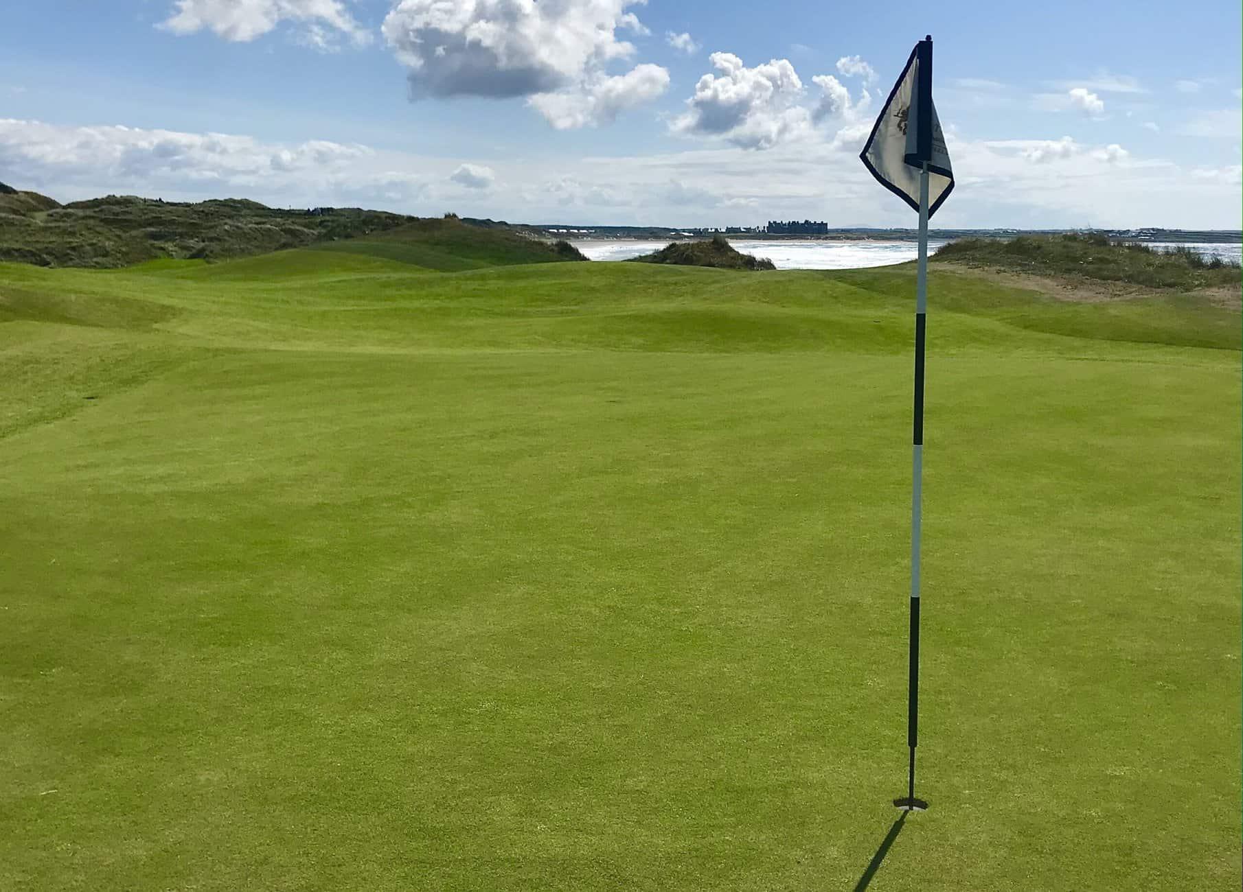 The views across Doonbeg Beach in County Clare