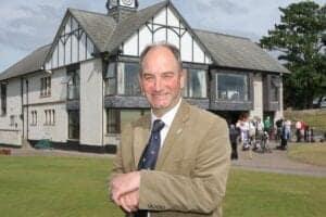 Neil Hampton, general manager of Royal Dornoch Golf Club