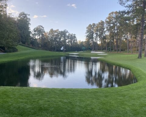 The 16th at Augusta