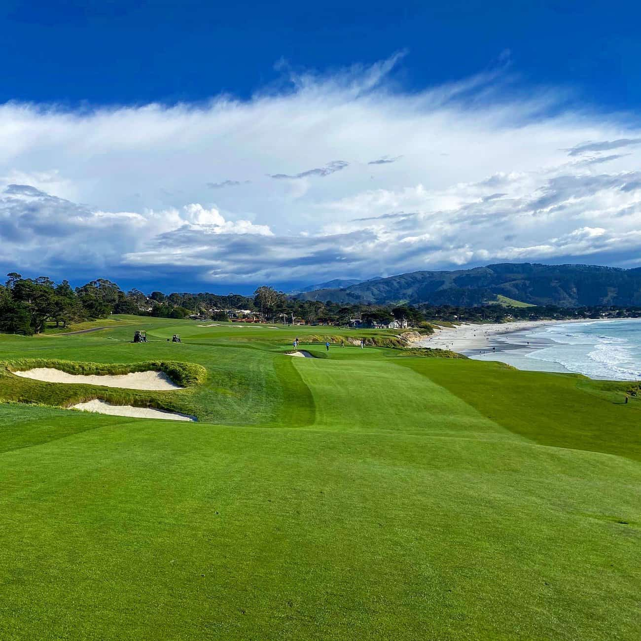 Pebble Beach Golf Links 9th hole