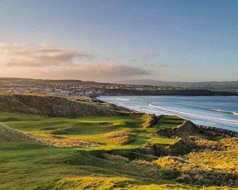 Lahinch Golf Club on Ireland's Wold Atlantic Way