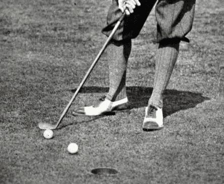 Golf stymie