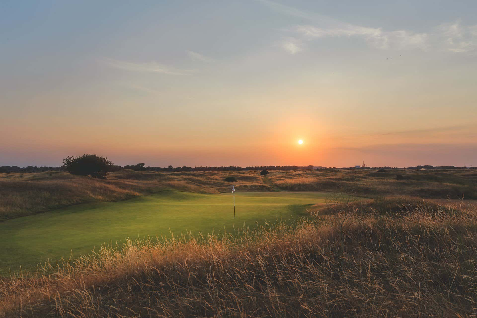 The 3rd hole at Royal St Georges Golf Club