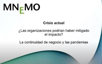 CRISIS ACTUAL ¿Las organizaciones podrían haber mitigado el impacto?