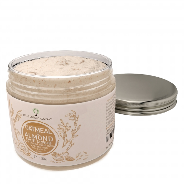 Oatmeal & Almond Face Scrub
