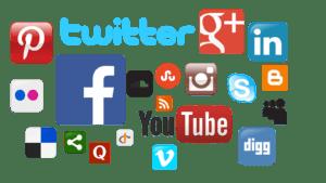 international social media platforms