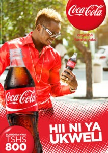 Coca Cola does swahili marketing in Tanzania