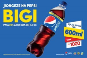 pepsi uses swahili marketing to enter tanzania