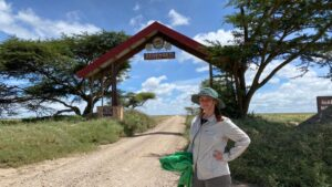 Serengeti National Park is empty during covid-19