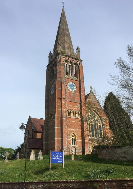 Lyndhurst church
