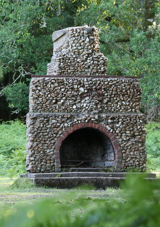 Portuguese Fireplace