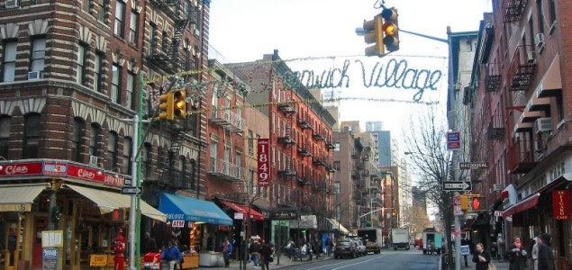 Shop in Greenwich Village during your trip to New York