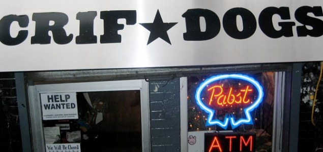 Crif Dogs is perfect for a late night meal in New York