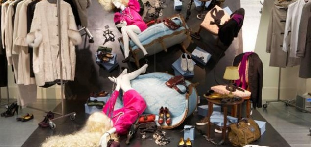 High-end shopping at Dover Street Market