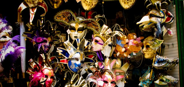 Masks from the Ca'Macana