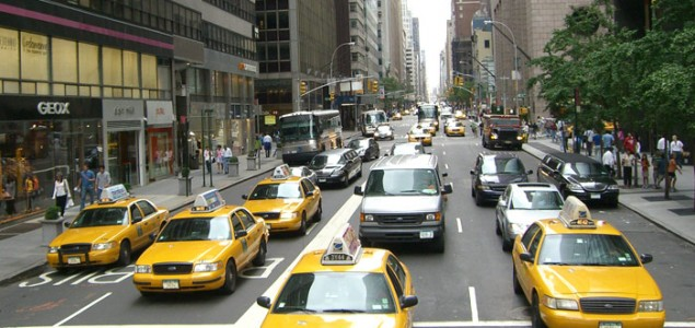The art of taking a taxi in New York