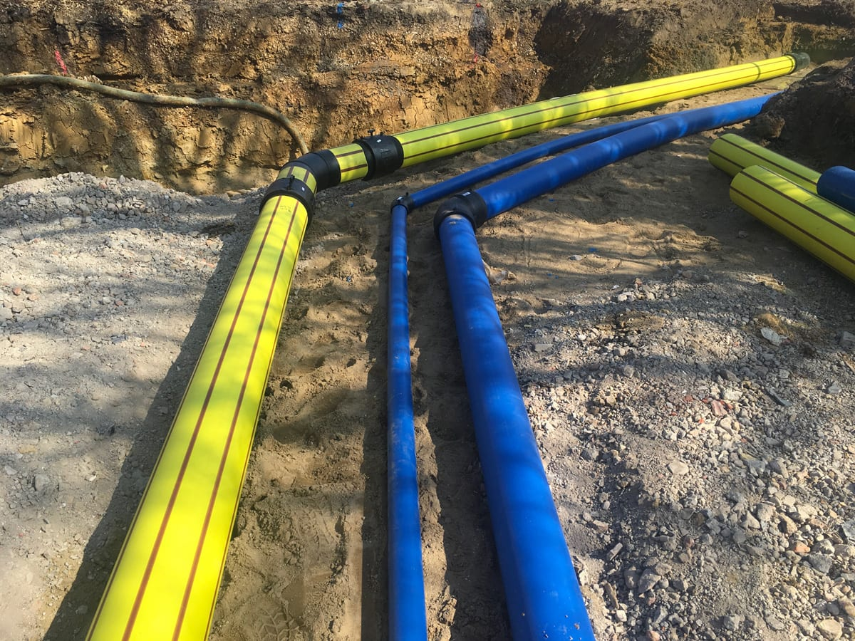 Commercial Water and gas pipeline 2