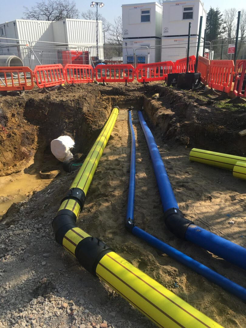 Commercial Water and gas pipeline