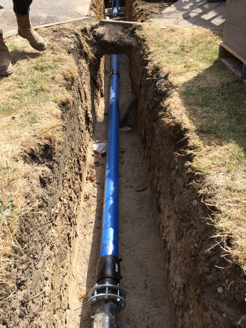 Commercial Water pipeline