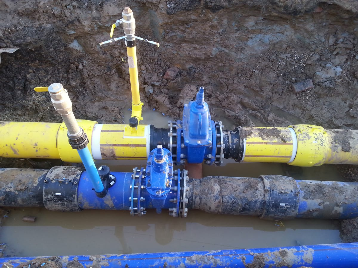 Commercial Water and gas pipeline 5