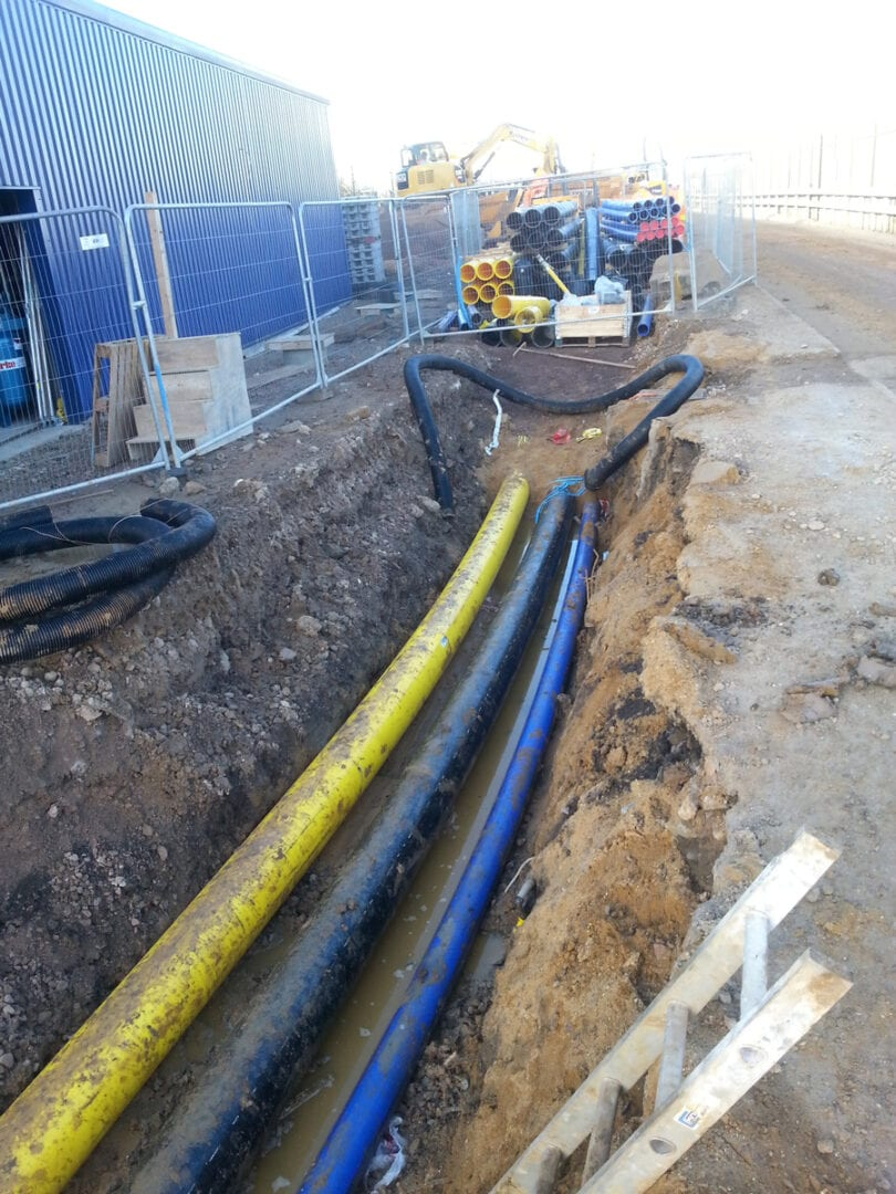 Commercial Water and gas pipeline 3