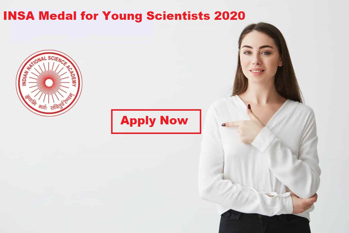 INSA Medal for Young Scientists 2020