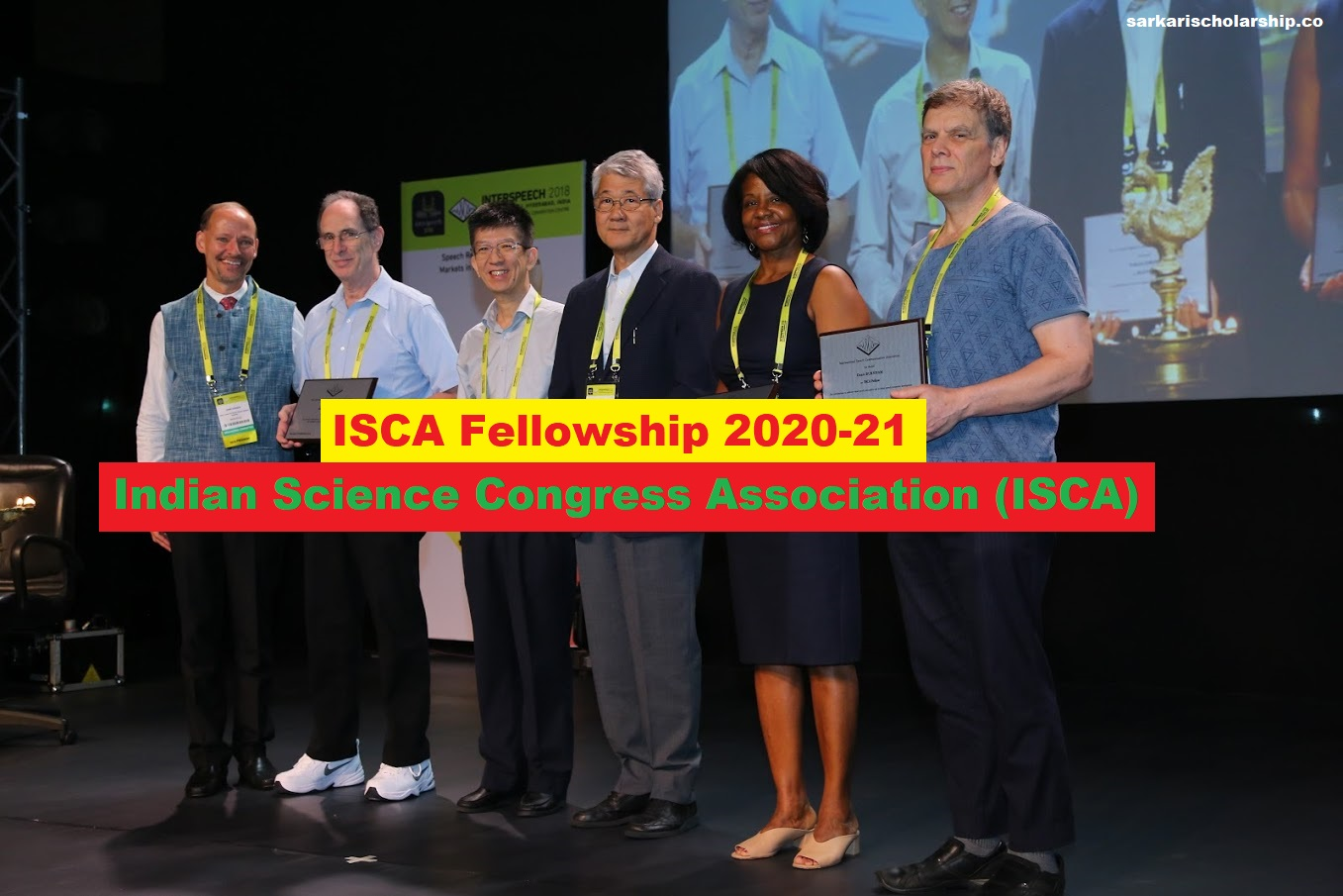 ISCA Fellowship 2020-21