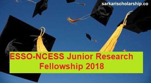 ESSO-NCESS Junior Research Fellowship 2018
