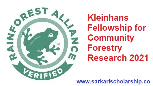 Kleinhans Fellowship for Community Forestry