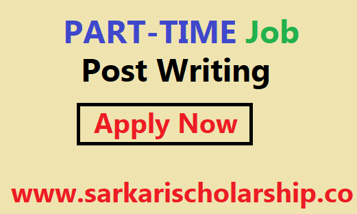 Post Writing part time job