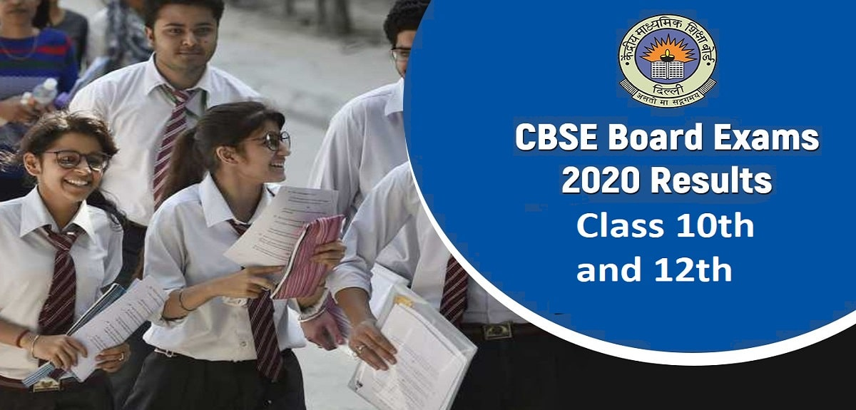 cbse board results class 10th and 12th 2020